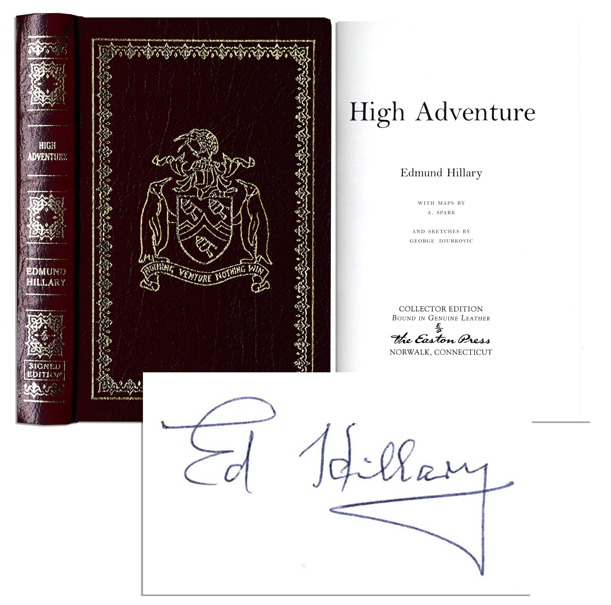 high adventure edmund hillary pdf