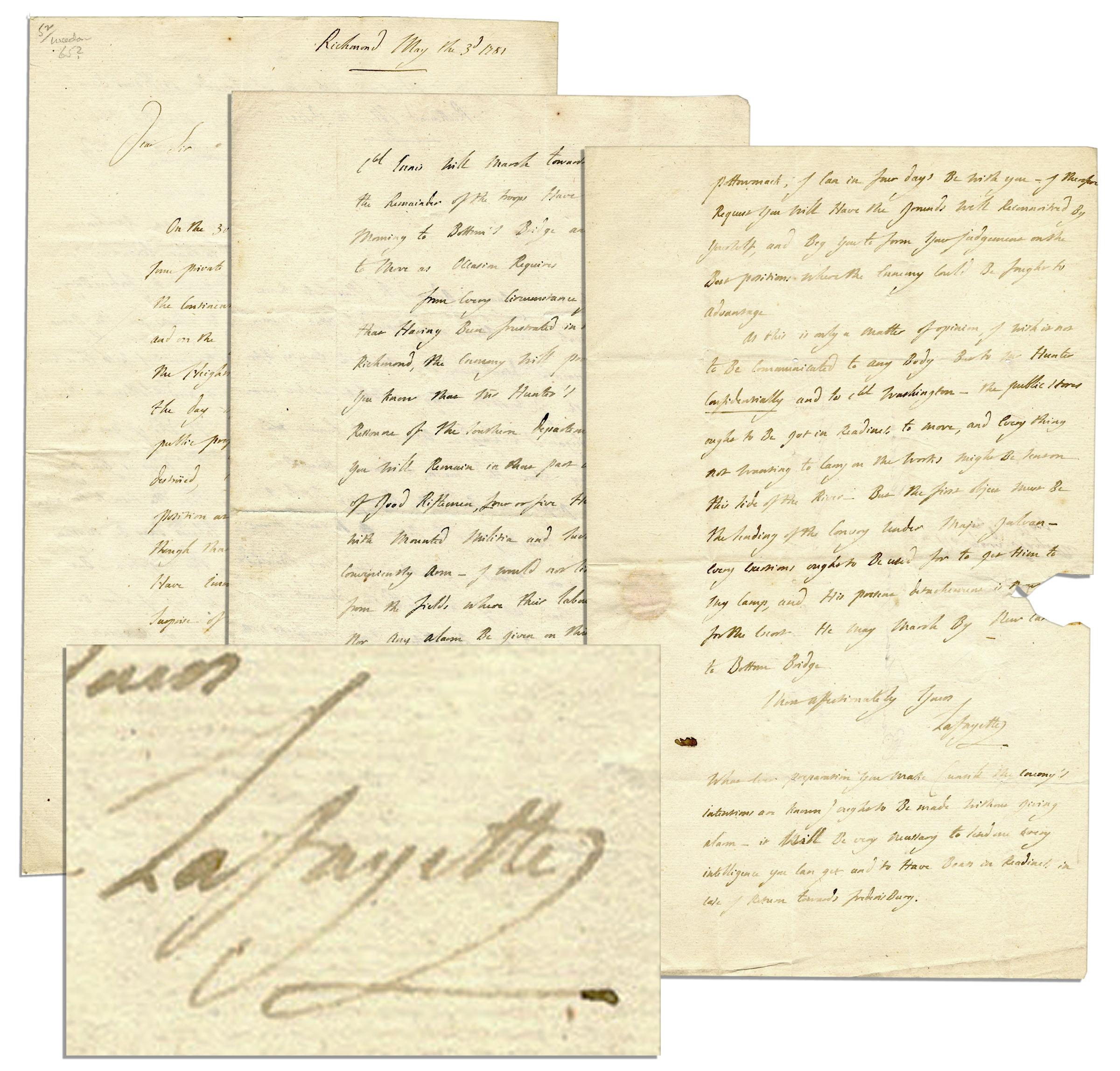 Lafayette Autograph