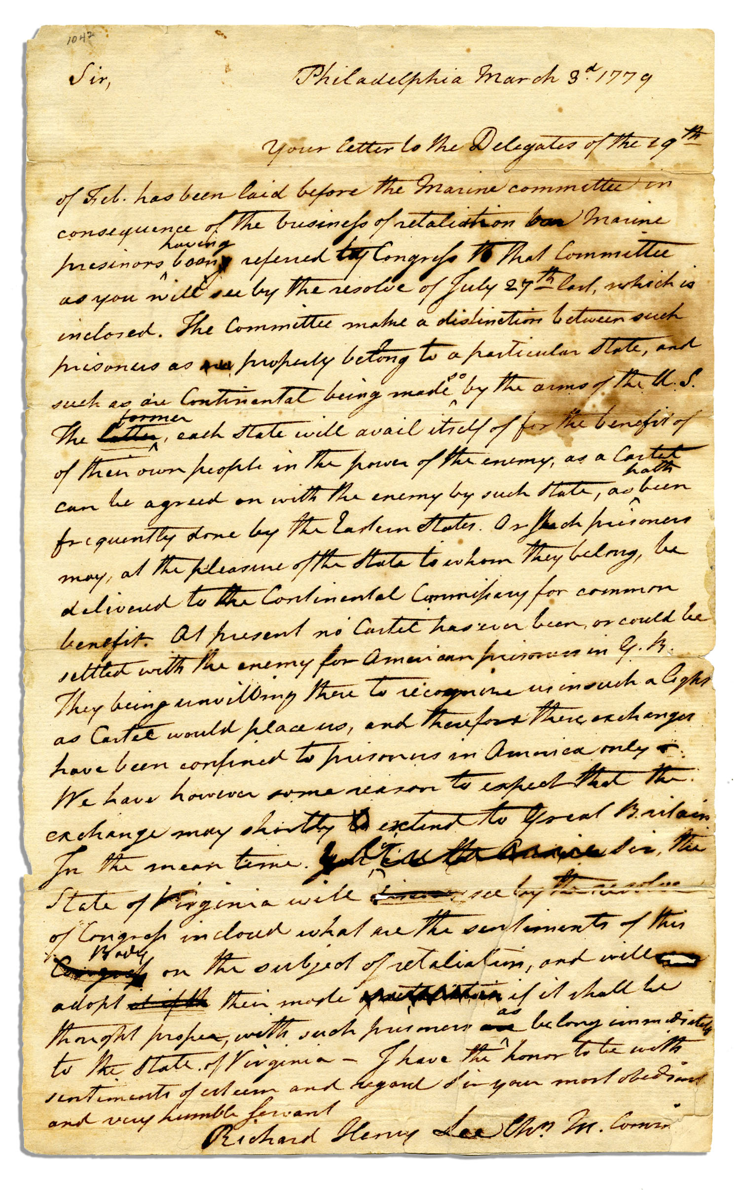 revolutionary war creative writing letter There isn't a doubt that oliver reed was just like any other soldier who had gone away to fight in the american revolution, writing home to his wife and.