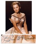 Gorgeous Olivia de Havilland Signed Photo as Melanie From Gone With the Wind
