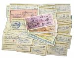 Lot of 100 Personal Checks Signed by Classic Hollywood Star Mary Astor