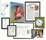 Marcia Cross Signed Desperate Housewives Screen-Used Cookbook -- With Other Screen-Used Props From Her Character Brees Kitchen Set -- With COA From ABC Studios