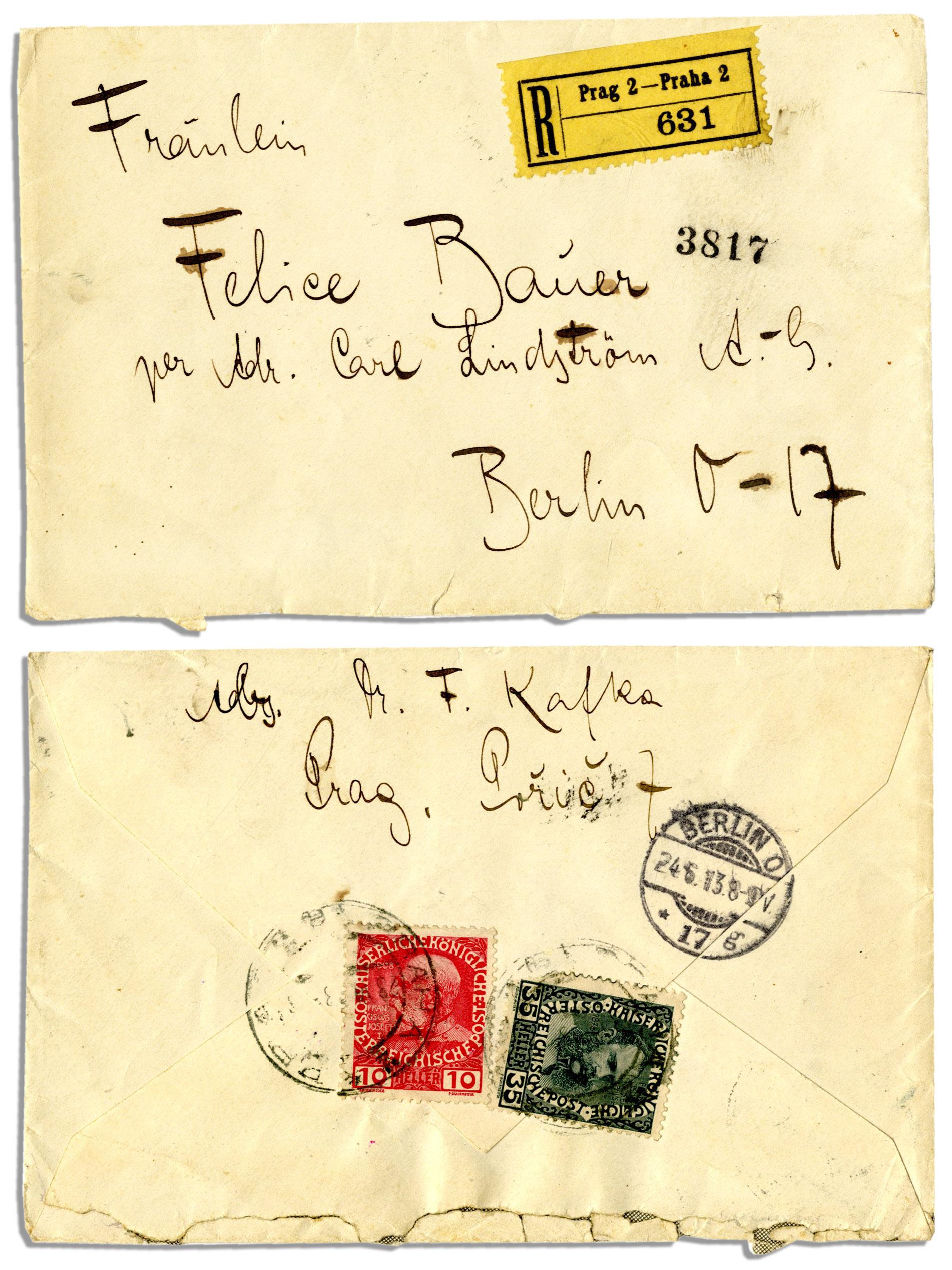 Franz Kafka Autograph