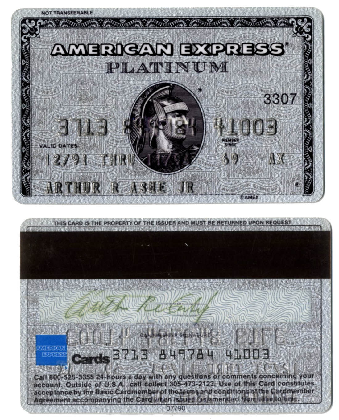 American Express Platinum Customer Service >> American Express Platinum Customer Service Number On Back Of Card