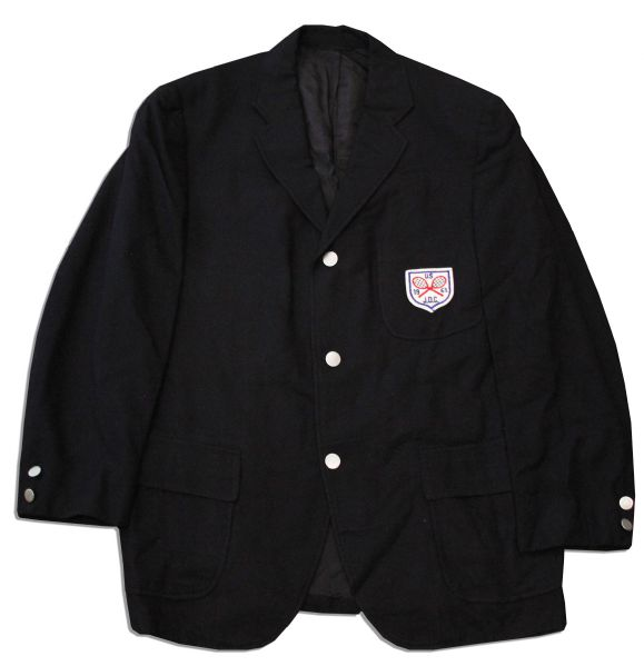 Arthur Ashe's Jacket From the 1962 U.S. Junior Davis Cup