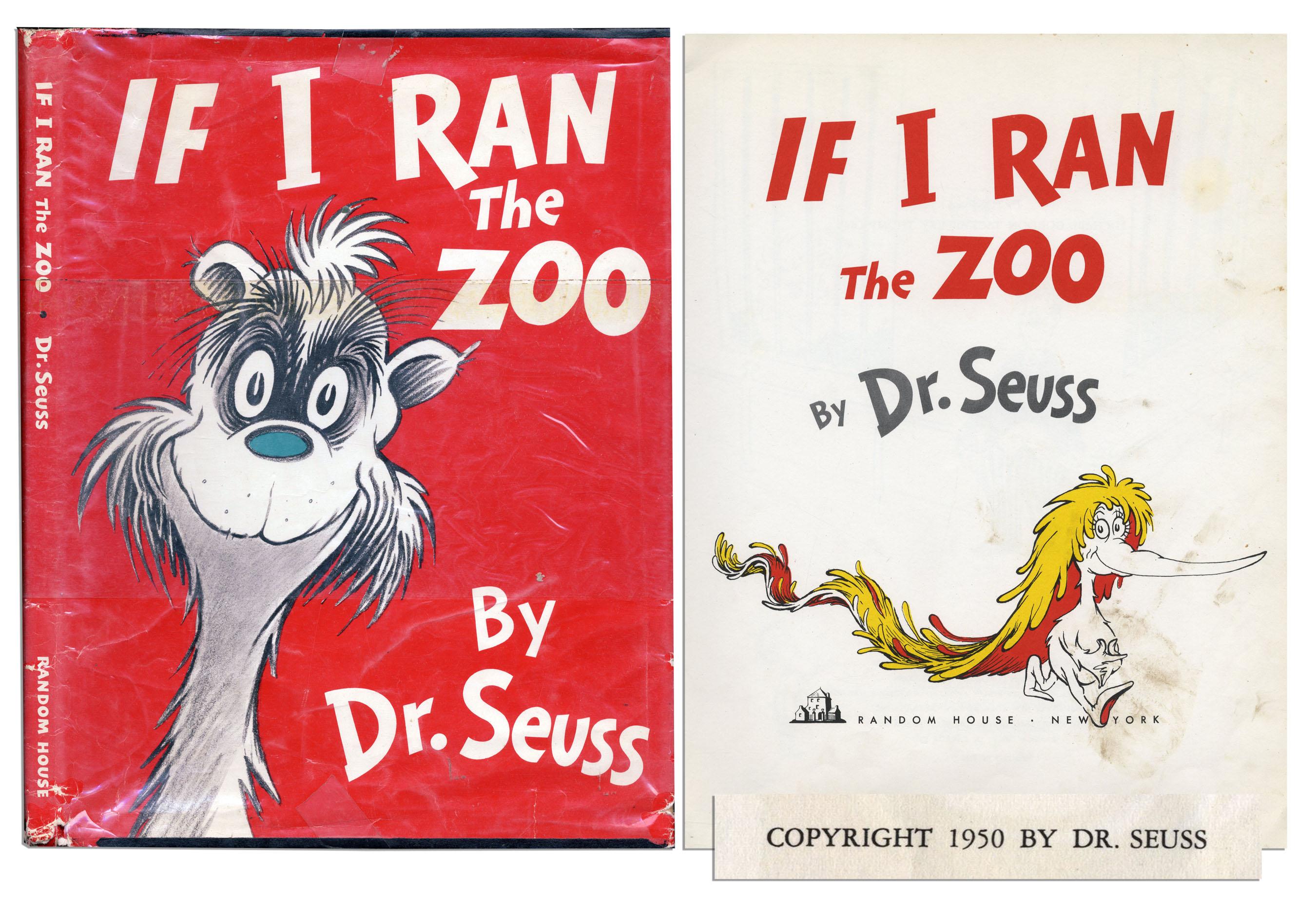 Dr. Seuss If I Ran the Zoo