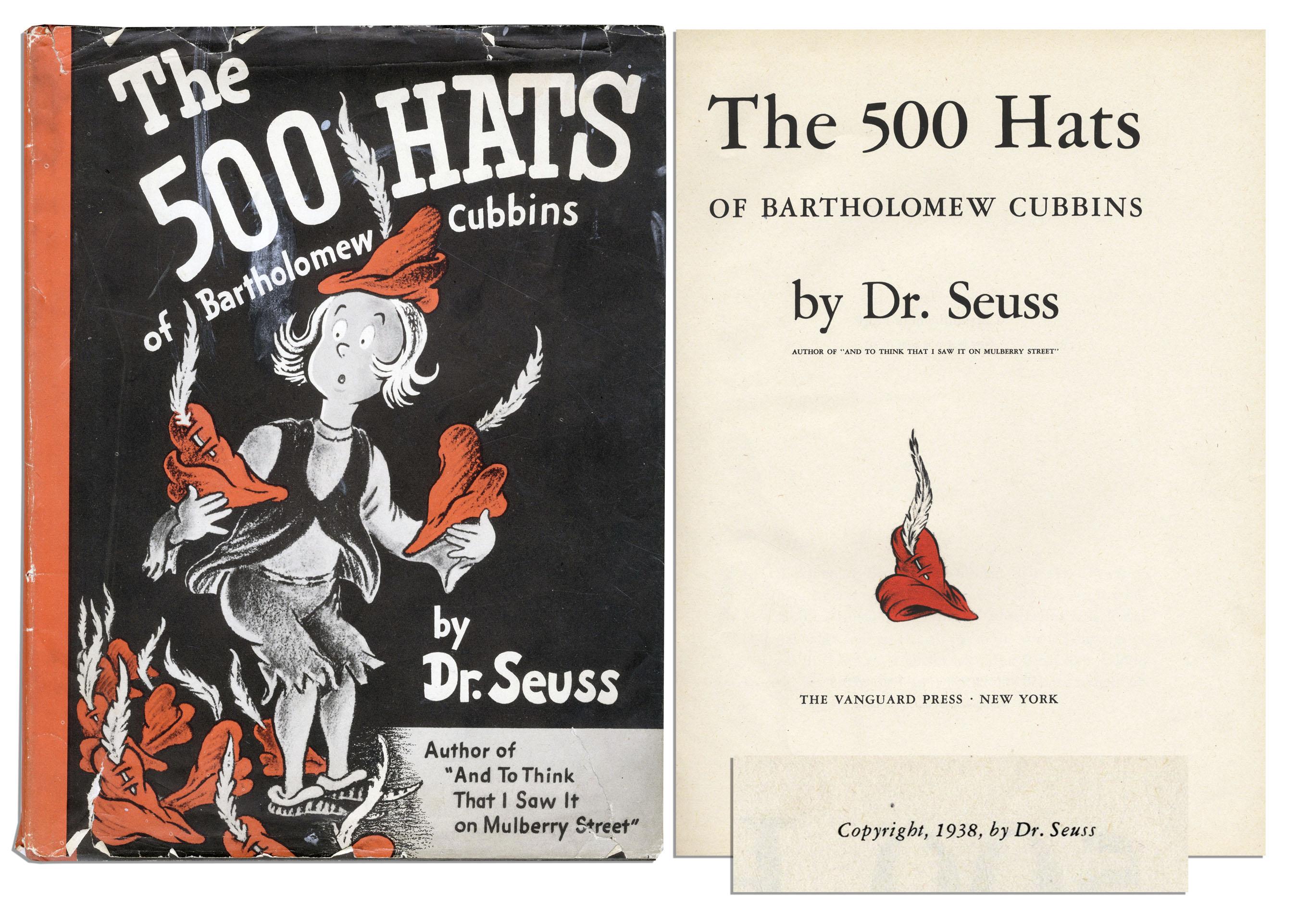 the 500 hats of bartholomew cubbins