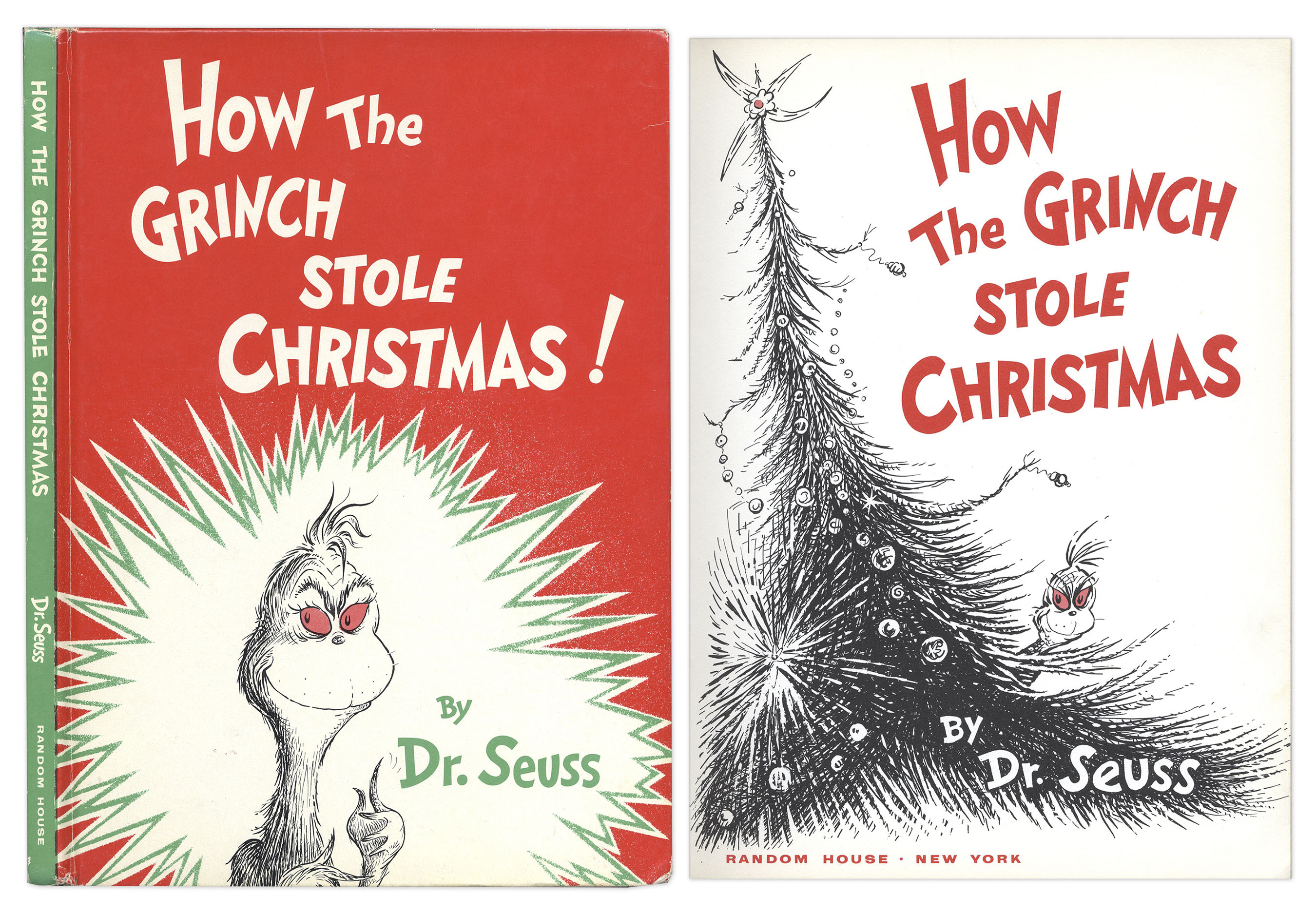 Lot Detail - Dr. Seuss ''How The Grinch Stole Christmas!'' 1st Edition