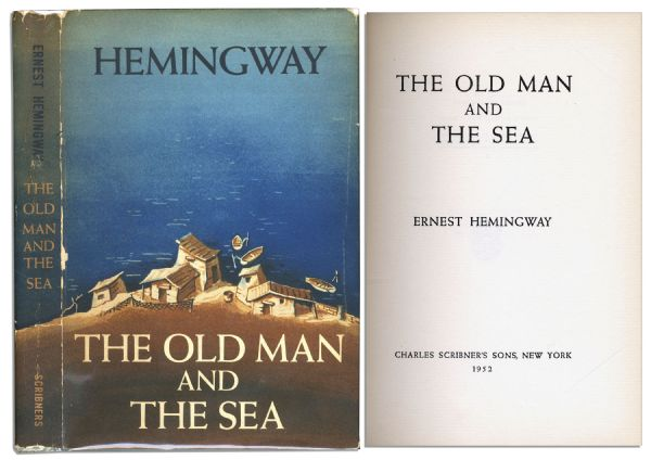 Scarce First Edition, First Printing of One of Hemingway's Defining Achievements ''The Old Man and the Sea''