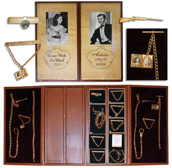 Exceptionally Rare ''Gone With the Wind'' Jewelry Collection Issued to Promote the Film During the 1939 Christmas Season