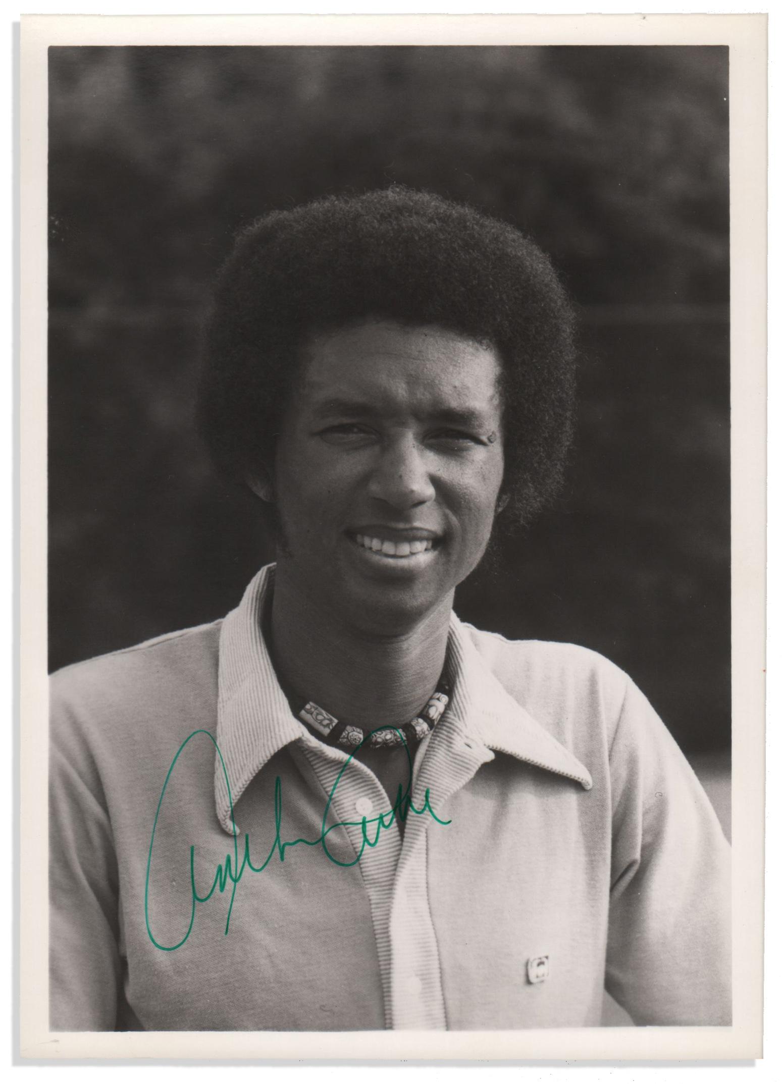Arthur Ashe Biography