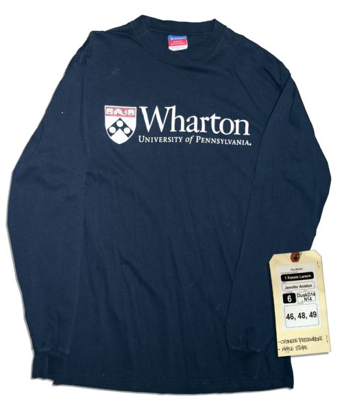 Jennifer Aniston Screen-Worn Wharton Shirt From ''The Switch''