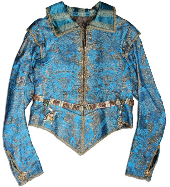 Orlando Bloom Screen-Worn Costume From Swashbuckling Classic ''The Three Musketeers'' -- Very Ornate ''Hero'' Costume From Film