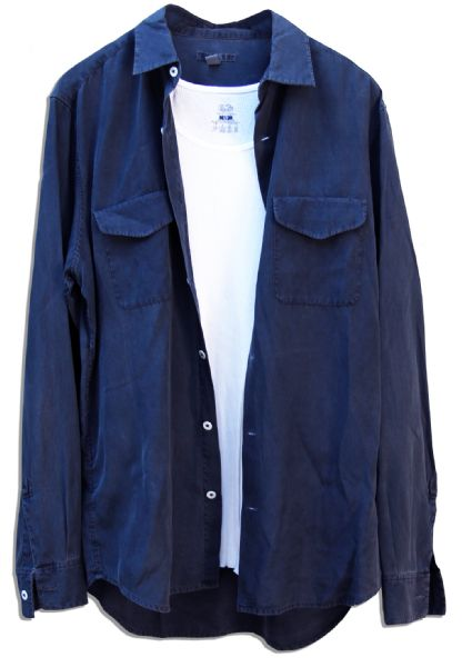 Matt Dillon Screen-Worn Wardrobe From the Thriller ''Takers'' -- With COA From Premiere Props