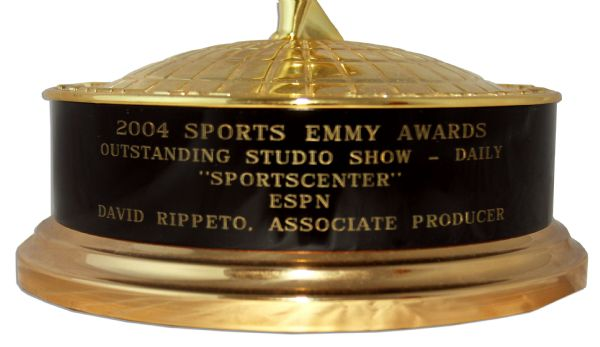 Emmy Award Presented at the 2004 Sports Emmys for ''SportsCenter'' on ESPN -- Fine Condition