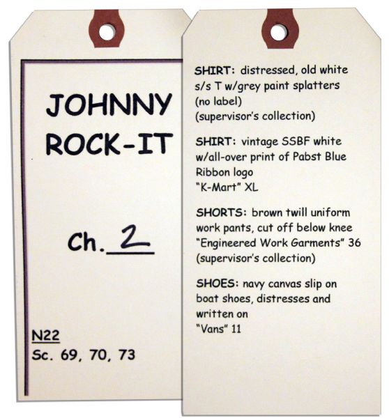 Jimmy Fallon Screen-Worn Wardrobe From ''Whip It''