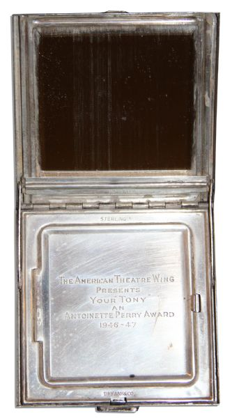 Incredibly Scarce Tony Award From The First-Ever Ceremony -- Awarded to the Legendary Actress Helen Hayes in 1947 for ''Best Actress - Dramatic''