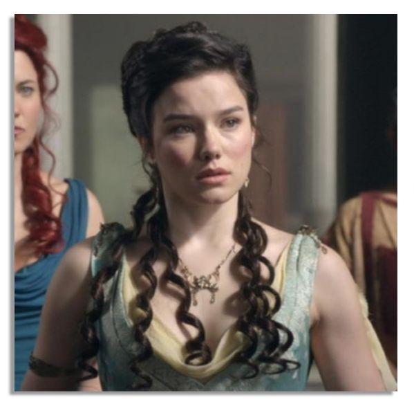 Hanna Mangan-Lawrence Screen-Worn Costume From the Hit Show ''Spartacus''