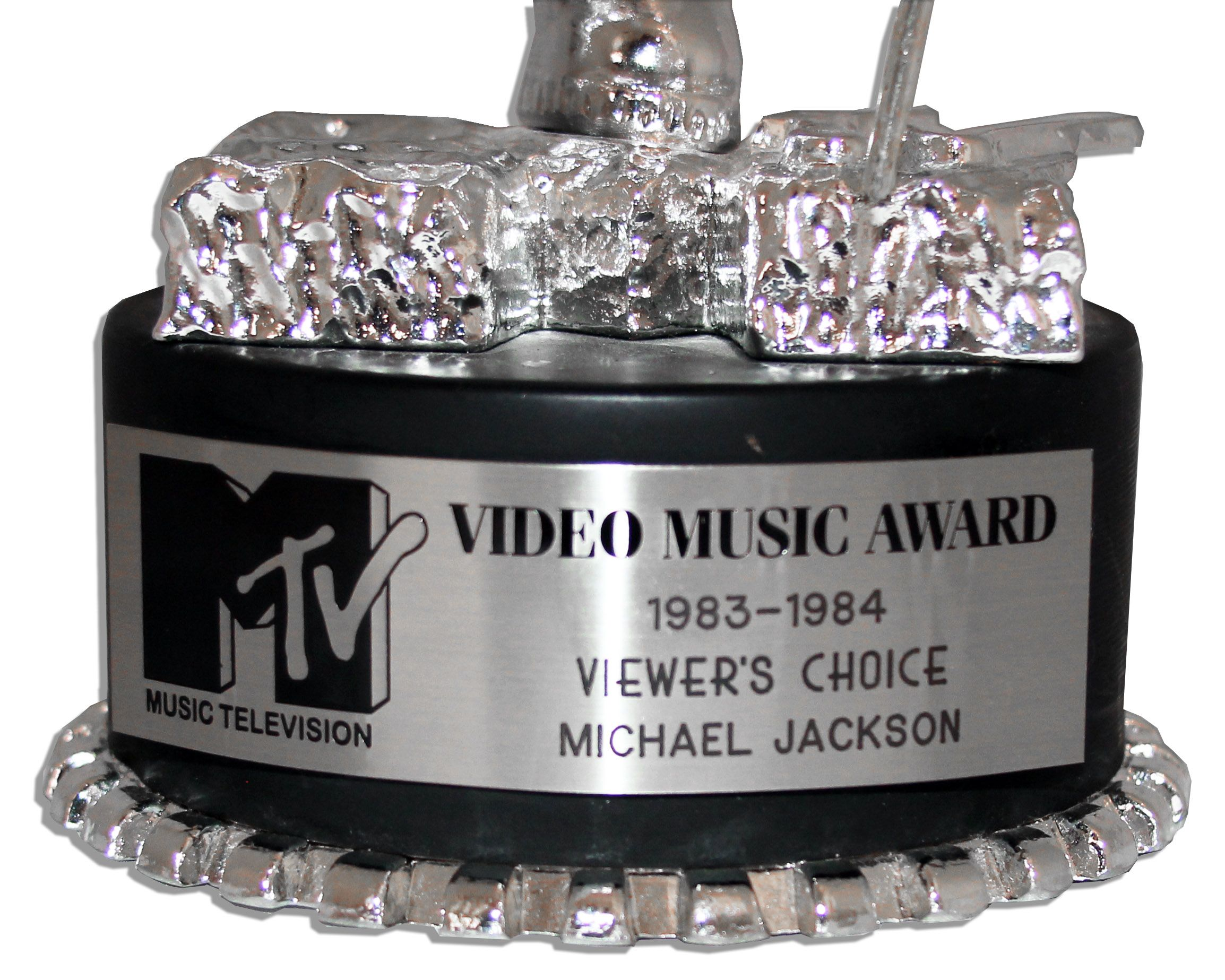 All'asta la statuetta MTV Moonman vinta da MJ per il video di Thriller 14729c_lg