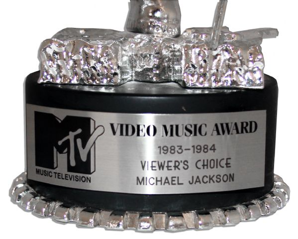 MTV Moonman Award for Michael Jackson's Thriller -- The Most Iconic MTV Award Ever Offered for Sale & From The First Ever MTV Video Music Awards Ceremony in 1984