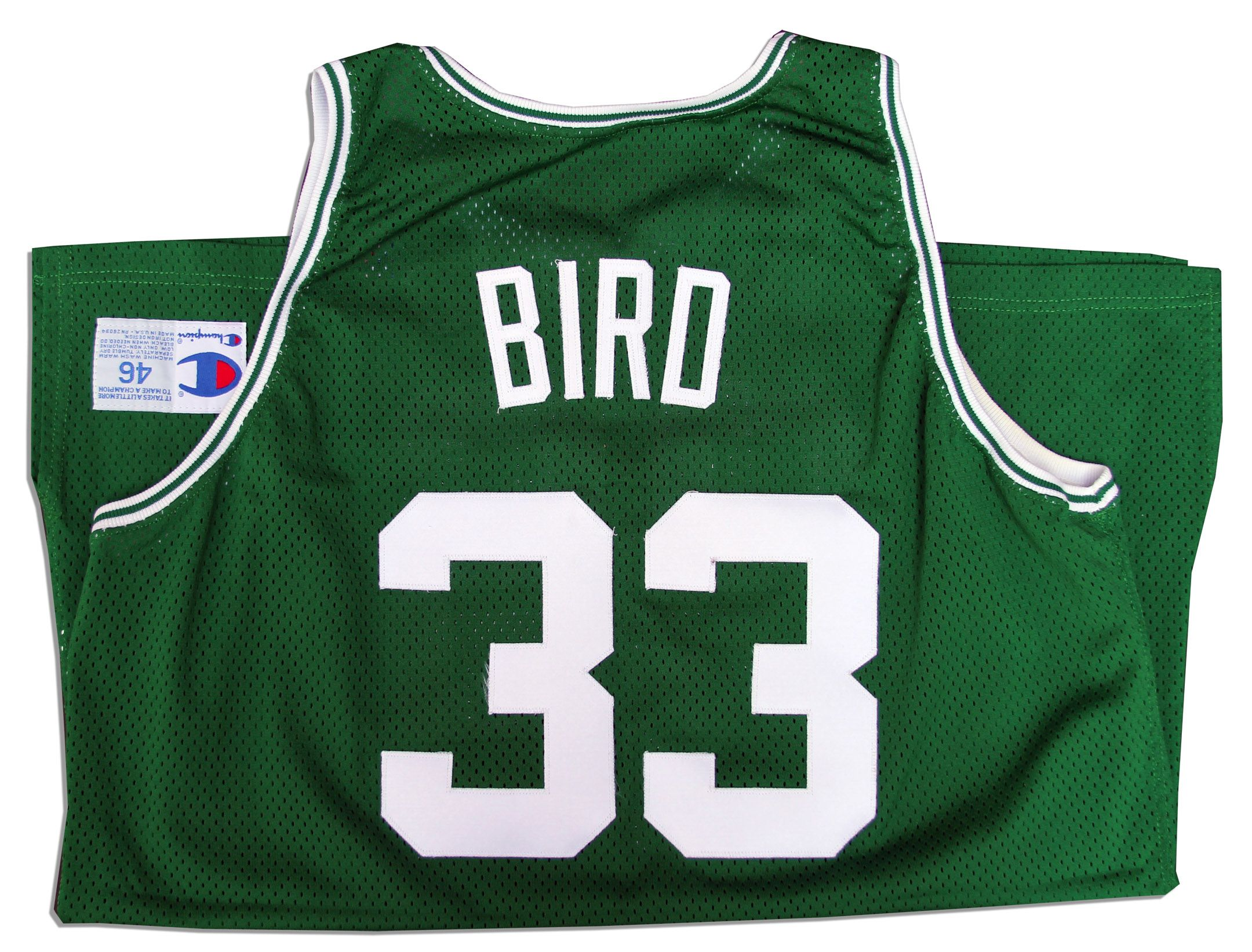 f973b177c8f Larry Bird Signed Game Worn Celtics Jersey -- From His Final Season Mens  Adidas Boston Celtics 33 ...