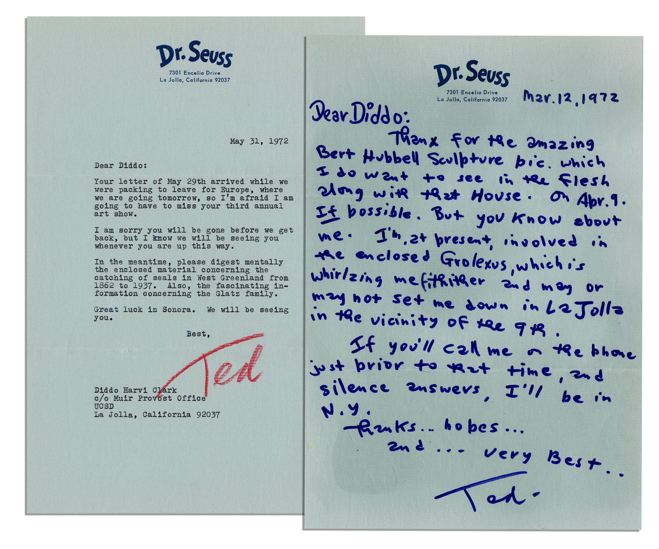 Dr seuss handwriting