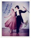 Fred Astaire & Ginger Rogers Signed 8 x 10 Photo