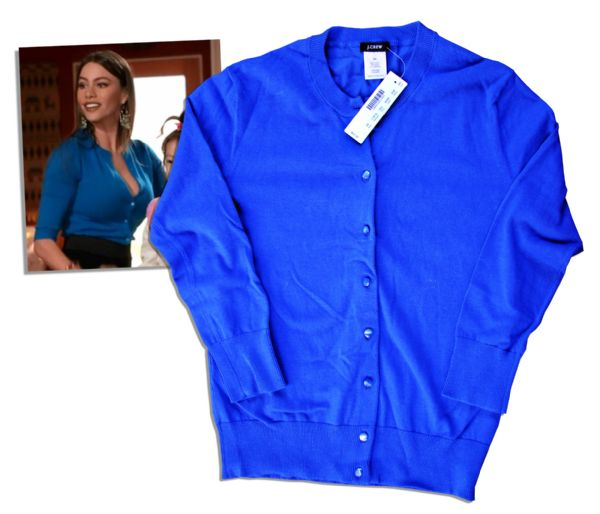 Sofia Vergara Screen-Worn Sweater From ''Modern Family'' -- With COA From 20th Century Fox Television