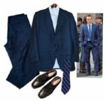 Matt Damon Screen-Worn Wardrobe From The Adjustment Bureau -- His Critically Acclaimed Thriller Based on a Story by Philip K. Dick