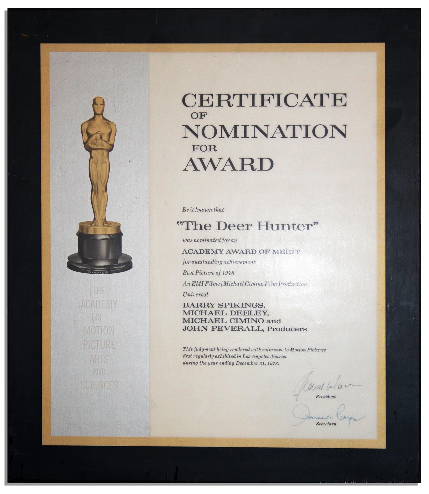 Academy Award Nomination