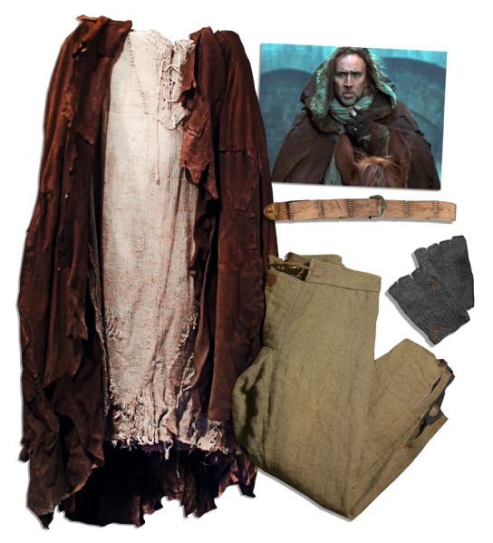 Nicolas Cage Costume for ''Season of the Witch''