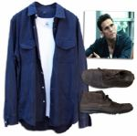 Matt Dillon Screen-Worn Wardrobe From the Thriller Takers -- With COA From Premiere Props