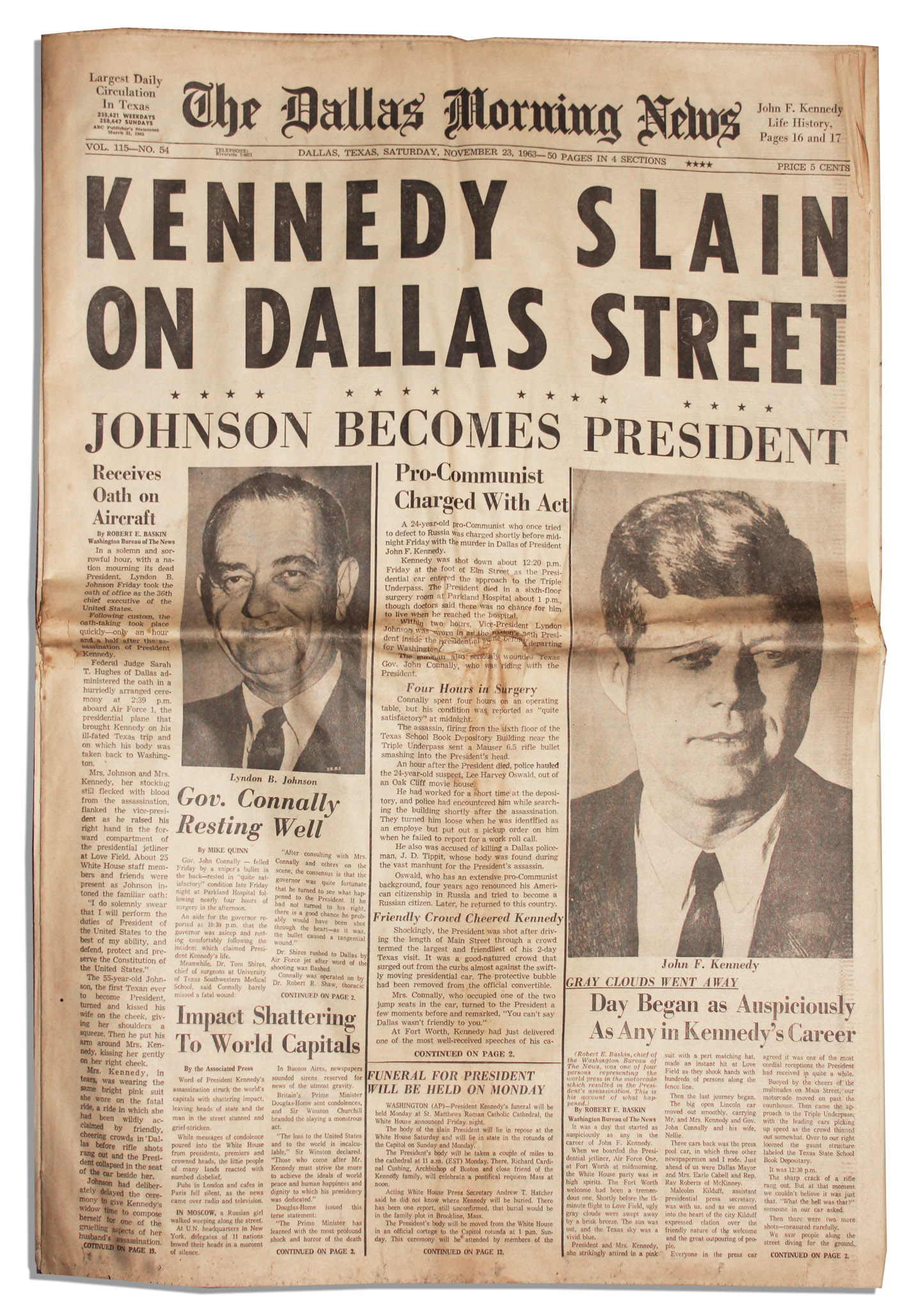 a paper on the assassination of robert kennedy More essay examples on speech rubric it was 4th april 1968, one of the most tragic days in the history of america when robert f kennedy, younger brother of slain president john f kennedy.