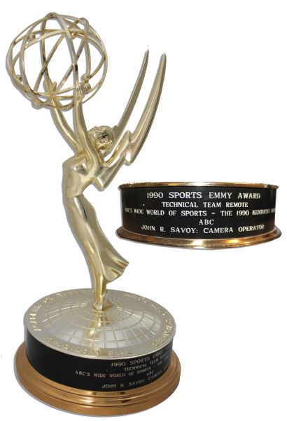 Sports Emmy Awarded to ''ABC's Wide World of Sports'' Camera Operator John Savoy for That Program's Coverage of the 1990 Kentucky Derby