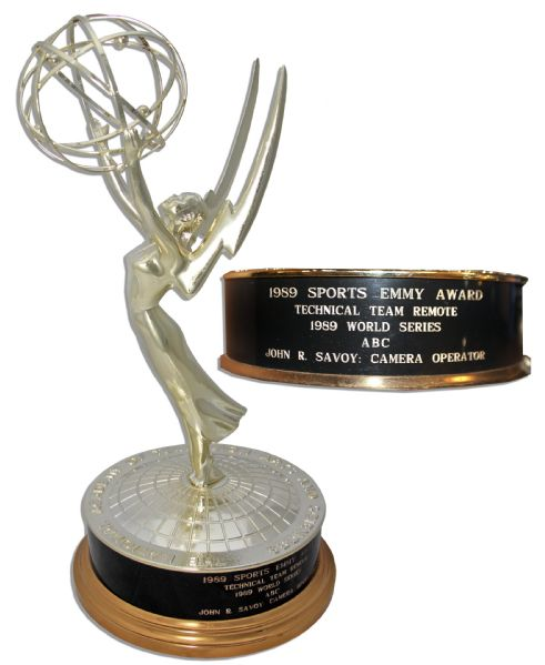 Sports Emmy for the 1989 World Series in San Francisco -- Coincided ...