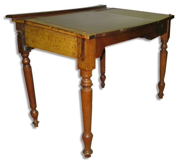 Incredibly Scarce Desk Used By Abraham Lincoln in 1838-1842, While Serving in the Illinois General Assembly -- With Excellent Provenance