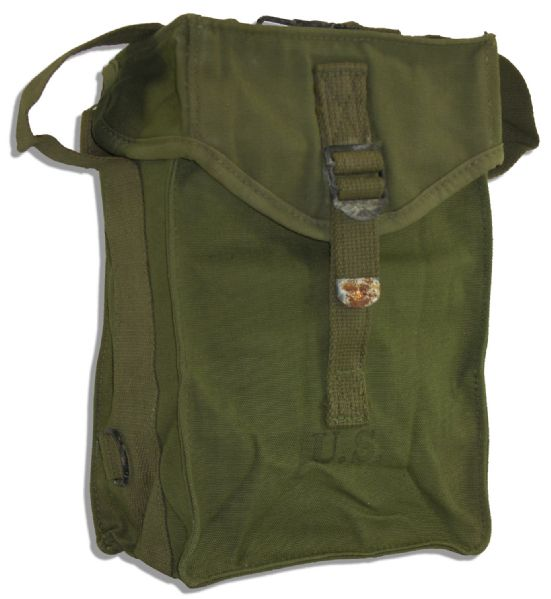 John Wayne Used Ammo Bag From Production of ''The Green Berets'' -- From His Personal Estate
