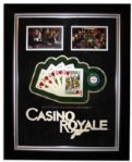 Casino Royale Screen-Used Props -- Playing Cards & $5,000 Poker Chip