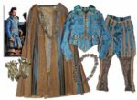 Orlando Bloom Screen-Worn Costume From Swashbuckling Classic The Three Musketeers -- Very Ornate Hero Costume From Film