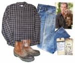Mel Gibson Screen-Worn Wardrobe From The Beaver