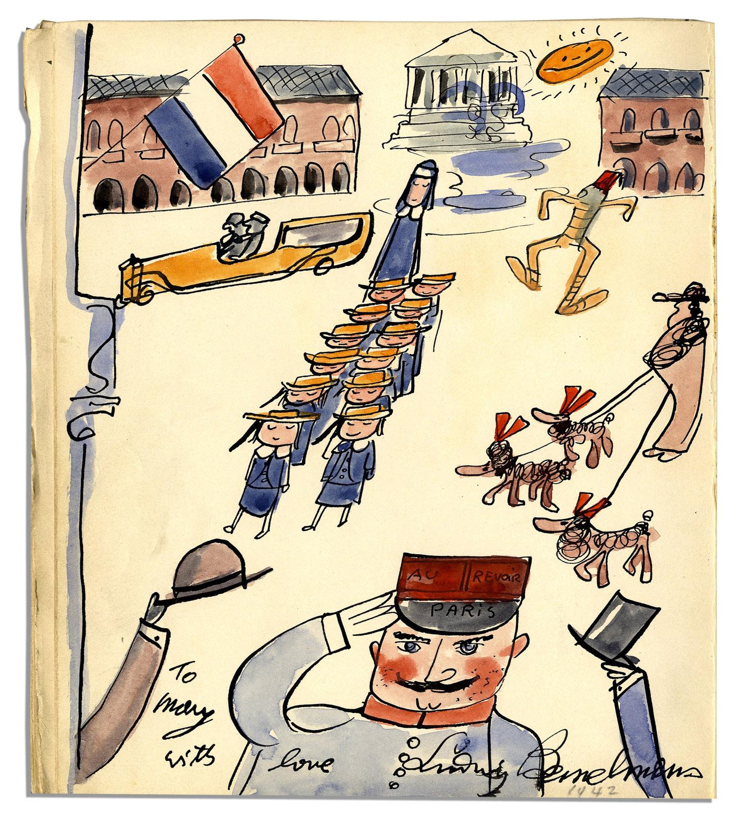 Ludwig Bemelmans Original Art