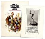 Captain Kangaroo Personally Owned Emmy Awards Memorabilia -- Including a 20th Anniversary Emmys Album