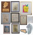 Captain Kangaroo Lot of 10 Awards From 1962-1991