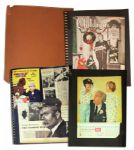 Bob Keeshans Personally Owned Scrapbook Documenting His Captain Kangaroo Show From 1958-1963 -- Newspaper & Magazine Articles -- Television And Your Childs Future