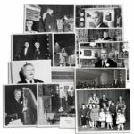 Captain Kangaroo Photo Lot of a Dozen Images -- With Some Captured on His Fun With Music Live Tour in 1959-1961