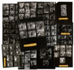 Captain Kangaroo 12 Contact Sheets From 1955