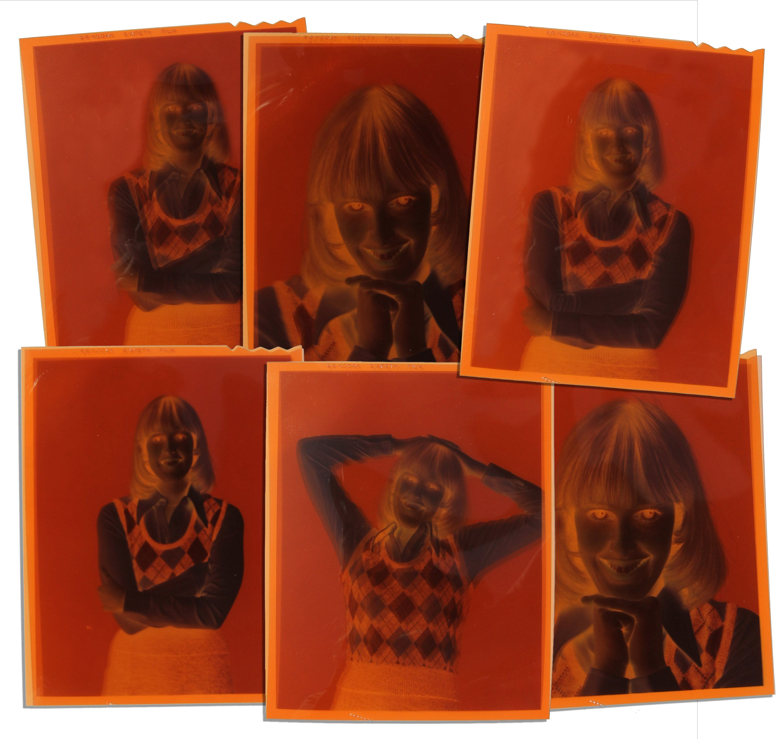 Color Negatives of Captain Kangaroo s Tragic Actress Debbie WeemsDebbie Weems