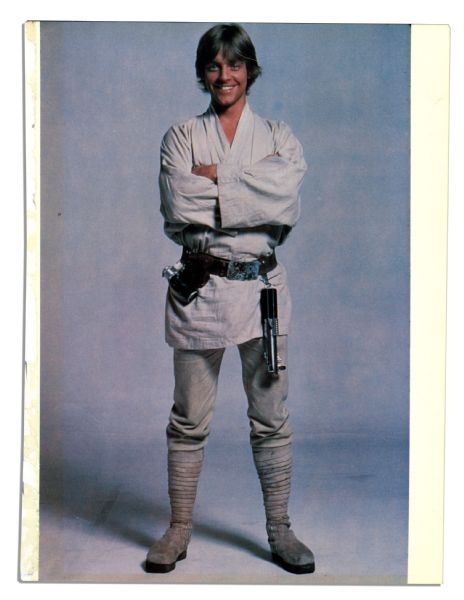 Mark Hamill's Screen-Worn Hero Pants in the Original 1977 ''Star Wars'' as Luke Skywalker