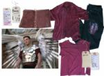 Ben Affleck Screen-Worn Costume From the Climactic Ending of Dogma -- With Kevin Smith COA