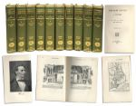 1890 Ten Volume Set of Abraham Lincoln: A History